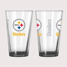 NFL Elite Pint Set - Steelers