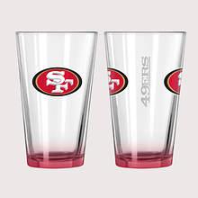 NFL Elite Pint Set - 49ers