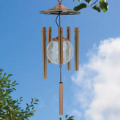 Color Changing Solar Windchime