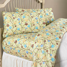 Cotton Flannel Sheets - Owl