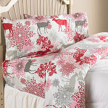 Cotton Flannel Sheets - Deer