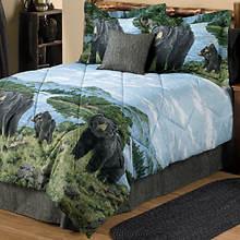 Black Bear Comforter Set