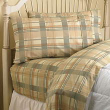 Flannel BedTite™ Sheets - Connor Plaid