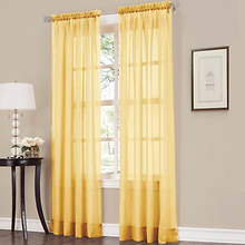 Erica Crushed Voile Panel - Yellow