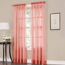 Erica Crushed Voile Panel - Coral