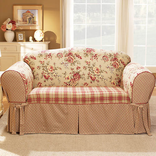 Lexington Skirted Slipcover - Loveseat