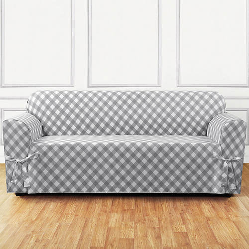 Buffalo Check Slipcover - Sofa