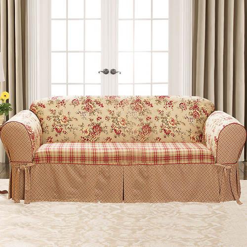 Lexington Skirted Slipcover - Sofa