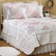Wilmington Quilt Set - Rose