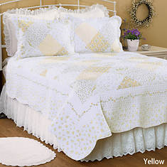 Wilmington Quilt Set - Yellow