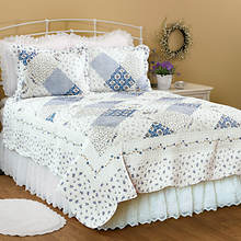 Wilmington Quilt Set - Blue