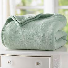 Micro Plush Blanket - Sage