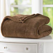 Micro Plush Blanket - Chocolate