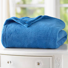 Micro Plush Blanket - Blue