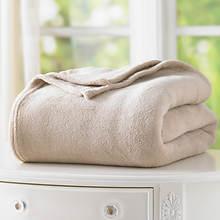 Micro Plush Blanket - Beige