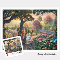 Thomas Kinkade Movie Puzzle - Gone with the Wind