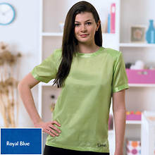Silk Blouse - Royal Blue