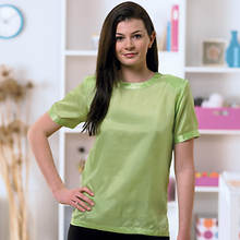 Silk Blouse - Lime