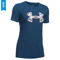 Under Armour Camo Logo Triblend Tee