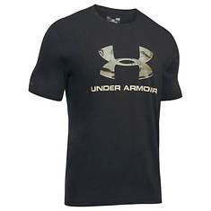 Under Armour Men's Camo Fill Logo Tee