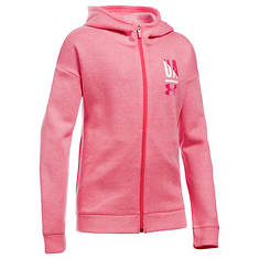 Under Armour Girls' UA Favorite Fleece Full Zip