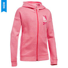 Unader Armour Girls' UA Favorite Fleece Full Zip