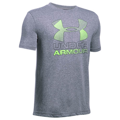 Under Armour Boys' Big Logo Hybrid 2.0 SS Tee