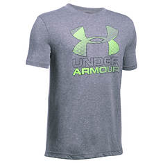 Under Armour Boys' Big Logo Hybrid 2.0 SS Tee