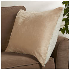 Snuggle Home Sherpa Reversible Pillow