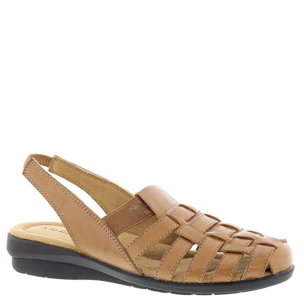 1950s Style Shoes | Heels, Flats, Boots ARRAY Santa Cruz Womens Tan Slip On 7 N $79.95 AT vintagedancer.com