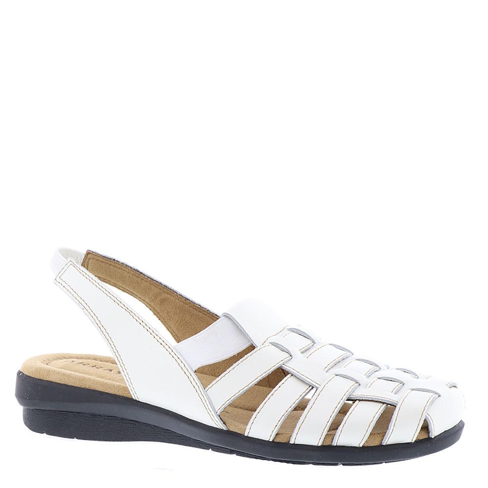 1950s Style Shoes | Heels, Flats, Boots ARRAY Santa Cruz Womens White Slip On 9.5 N $79.95 AT vintagedancer.com
