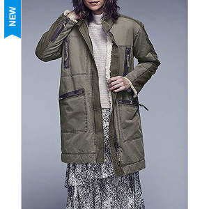 Free People Women's Tallis Oversized Sherpa Parka