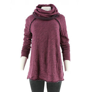 Free People Women's Beach Cotton Cocoon Cowl Pullover