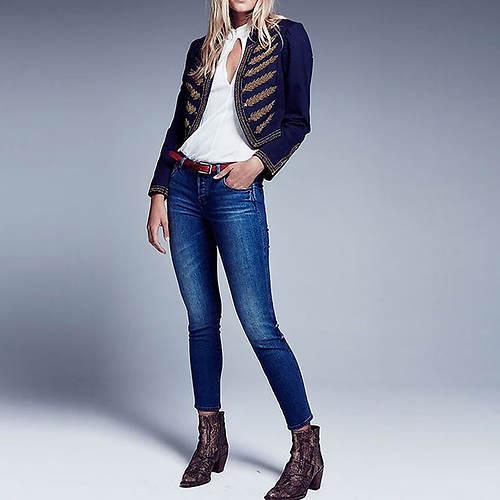 Free People Women's Peyton Hi Rise Skinny Jean