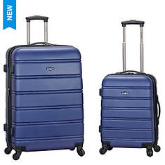 Rockland 2-Piece Luggage Set - Opened Item