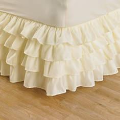 Ruffle Bedskirt - Ivory