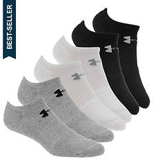Under Armour Men's Charged Cotton 2.0 No Show Sock