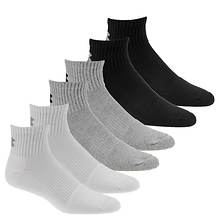 Under Armour Men's Charged Cotton 2.0 Quarter Sock