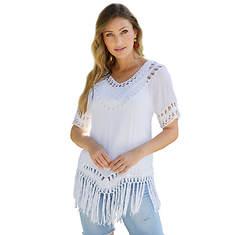 Gauze Crochet Tunic