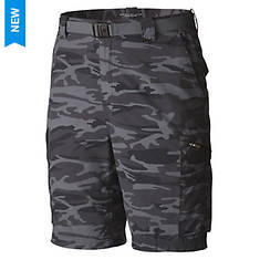 Columbia Men's Silver Ridge Printed Cargo Shorts