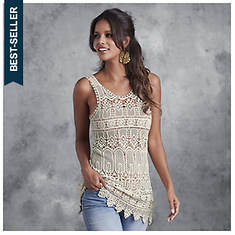 Crochet Tank Tunic
