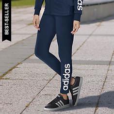 adidas Women's Essentials Linear Logo Tights