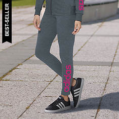 adidas Women's Essentials Linear Logo Tights