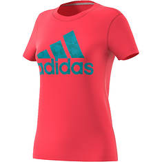adidas Women's Badge Of Sport Smoothie Tee