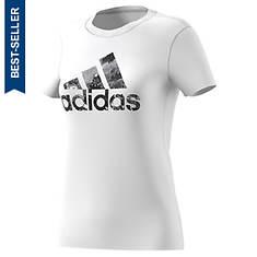 adidas Women's Badge Of Sport Raw Tee