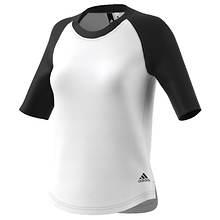adidas Women's Baseball Short-Sleeve Top