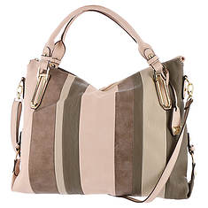 Jessica Simpson Ryanne Patch Top Zip Tote Bag