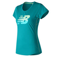New Balance Women's Accelerate SS Graphic