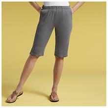 Knit-Waist Shorts