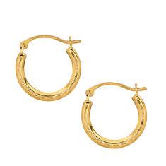 10K Hoop Earrings